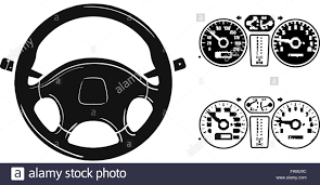 jeep steering wheel emblem icon steering wheel stock vector art u0026 illustration vector image