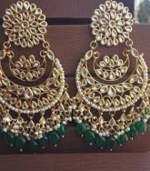 chandbali earrings chandbali buy gold design chand balis earrings jewellery online