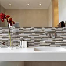 Smart Tiles Milano Lino  In W X  In H Peel And Stick - Smart tiles backsplash
