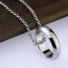 ring name necklace images Custom name engravable ring pendant necklace for men personalized jpg