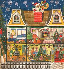 retro wrapping paper vintage christmas wrapping paper 1950s vintage christmas