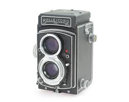 rollei rolleicord v model k3c tlr film camera with xenar 3 5 75 mm