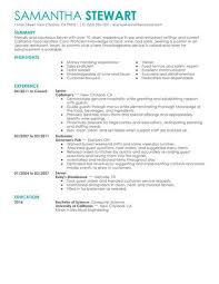 server resume template servers sles no experience resumes livecareer