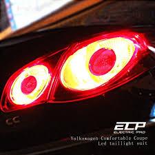 2011 vw cc led tail lights ecp tail light emboitement for vw cc include reversing l 2 brake