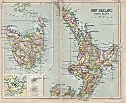 New Zealand And Australia Map Australia And The Pacific Historical Maps Perry Castañeda Map