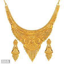 yellow gold necklace sets images 59 necklace set gold fancy necklace set 22k gold jpg