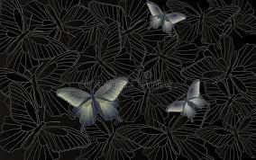 papier peint de bureau papier peint de bureau fond avec des papillons illustration de