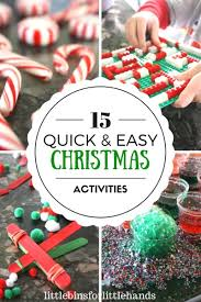 easy christmas activities for kid u0027s christmas stem