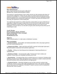 Best Skills For Resume by Good Skills And Interest For Resume