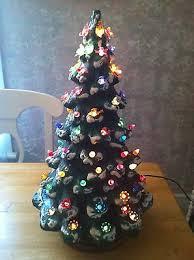 ceramic christmas tree collection on ebay
