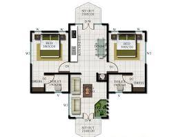 3 small villa floor plans inspiring small villa plan 21 photo