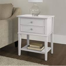 tall side table with drawers extra tall end table wayfair