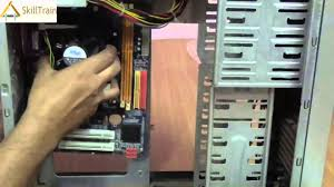 assembling the cabinet of a cpu hindi ह न द youtube
