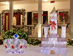 outdoor lighted christmas decorations christmas decor