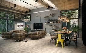 Loft Designs by Industrial Loft Design Chic Industrial Loft Design Concept