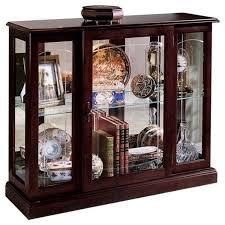 Pulaski Curio Cabinet Used Pulaski Curios Display Cabinet In Ridgewood Cherry Walmart Com