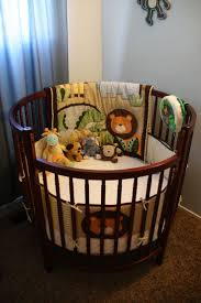 bedroom graceful and charming round baby bassinet for nursery