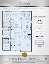 ardmore park floor plan avalon dream finders homes