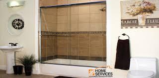 Glass Shower Doors Milwaukee by Semi Frameless Sliding Enclosures Home Depot Euroview