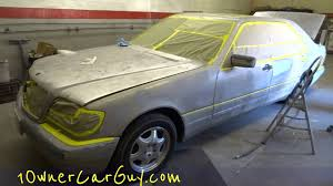 mercedes paint repair shop work paint how to update review walkaround