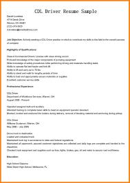 Resume For Cdl Driver 10 Commercial Driver Resume Hvac Resumed