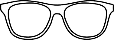 glasses clipart white glasses clipart