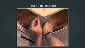 vinyl siding installation soffit installation part 4 of 9 youtube