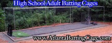Batting Cage For Backyard by Atlanta Batting Cages Baseball Softball Batting Cage Netting
