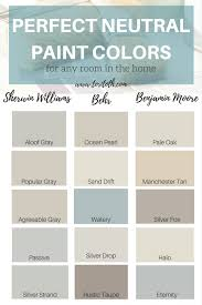 neutral paint colors choose color u0026 sheen for walls