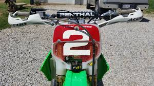kawasaki motocross bikes for sale for sale kx250 gncc paul edmondson factory race bike for sale