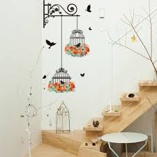 birdcage wallpaper wall stickers kids rooms sofa door bedroom home