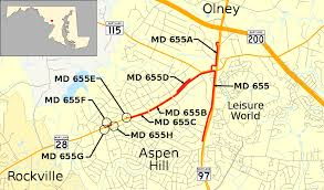 Md Map Maryland Route 655 Wikipedia