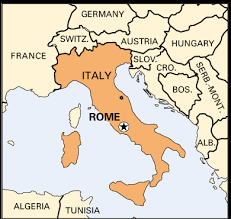 rome on a map rome italy on a map greece map