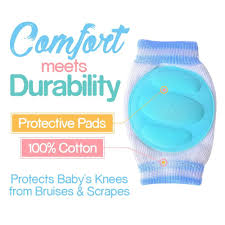 amazon com baby knee pads for crawling 3 pairs adjustable