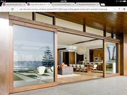 Wood Sliding Glass Patio Doors Dreammmmmmmsliding Doors And Louvers At The Top Remodel