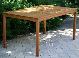 eucalyptus rectangle patio dining table