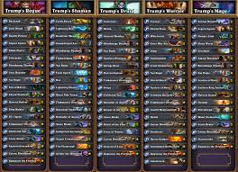 Decks Hearthstone July 2017 by Hearthstone News All Decklists From Seatstory Cup Gosugamers