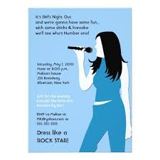 346 best karaoke birthday party invitations images on pinterest