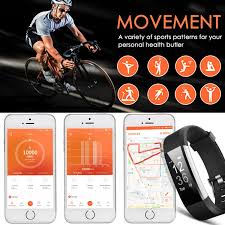 iphone health monitor bracelet images Fitness tracker aneken smart bracelet with heart rate monitor jpg