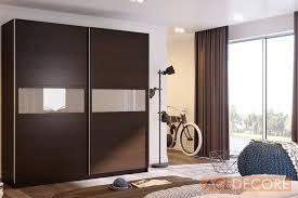 Sliding Door Wardrobe Cabinet Nota Dark Oak Wardrobe Closet Furniture From Ace Decore