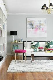 pink living room ideas pops of pink in every room yes