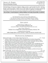 Physics Resume Resume Sample Physical Education Teacher Cover Letter Best