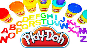play doh abc for kids learn abc the alphabet letters play