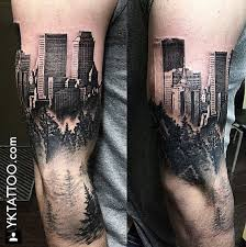 best 25 city tattoo ideas on pinterest skyline tattoo new york