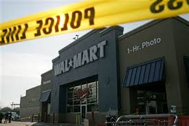 cops hunt wal mart shoppers after worker dies us news