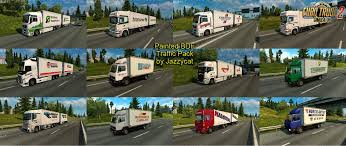 skin pack new year 2017 for iveco hiway and volvo 2012 2013 painted bdf traffic pack v2 5 by jazzycat download ets 2 mods
