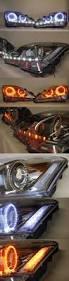 lexus sc300 halo headlights lexus is250 is350 isf led headlights drl strip angel eyes