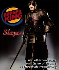 game of thrones food puns a muse walks into a blog