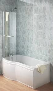 twyford galerie optimise left hand offset shower bath 1700mm