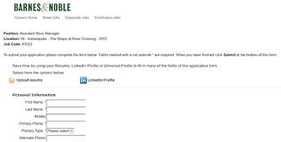 Apply Barnes And Noble Barnes U0026 Noble Job Application Apply Online